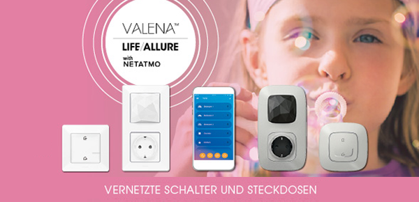 Valena with Netatmo bei Elektro Ruths Installationen GmbH in Mühltal