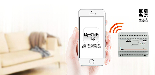 MyHOME / MyHOME_Up bei Elektro Ruths Installationen GmbH in Mühltal